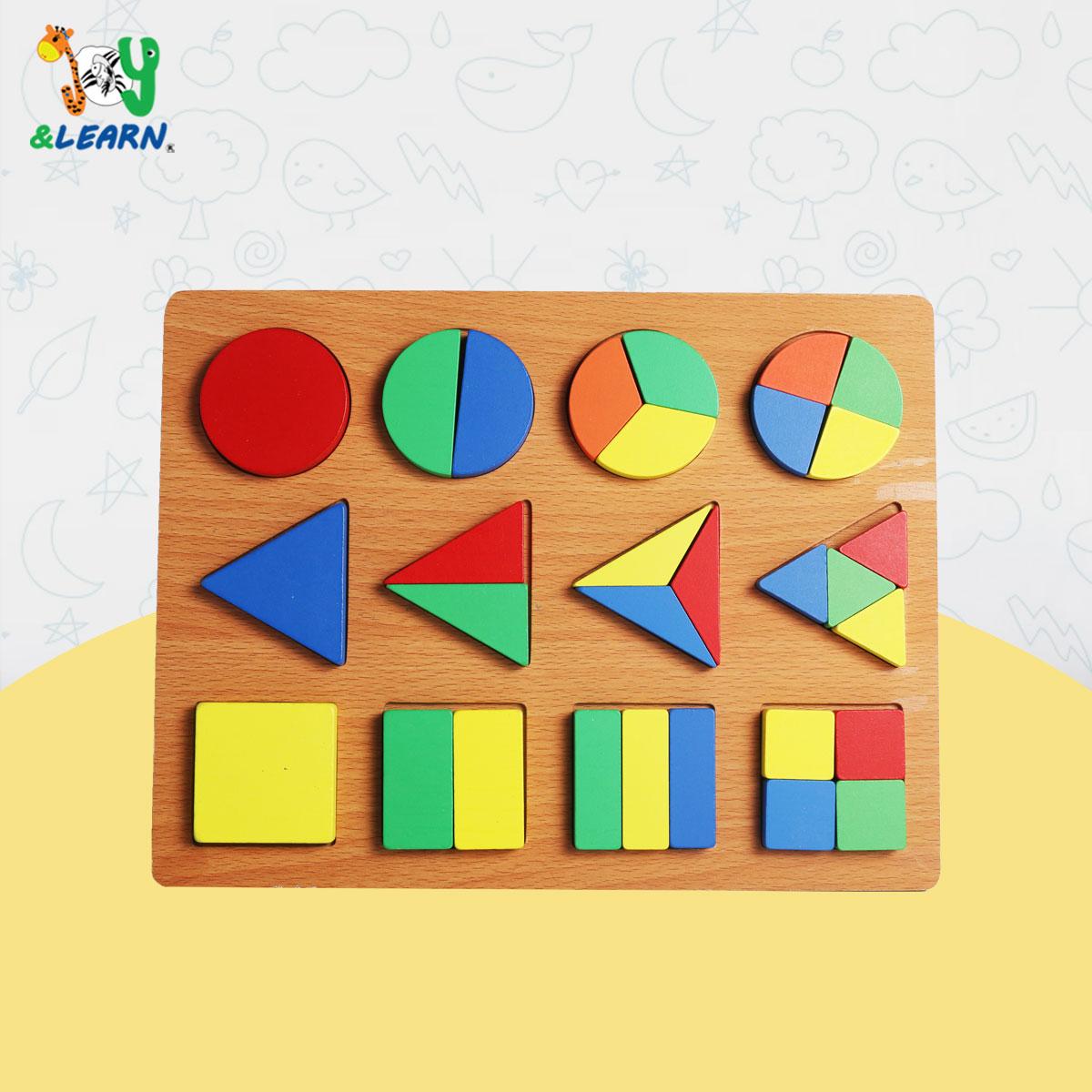 اشكال هندسية 12 قطعة