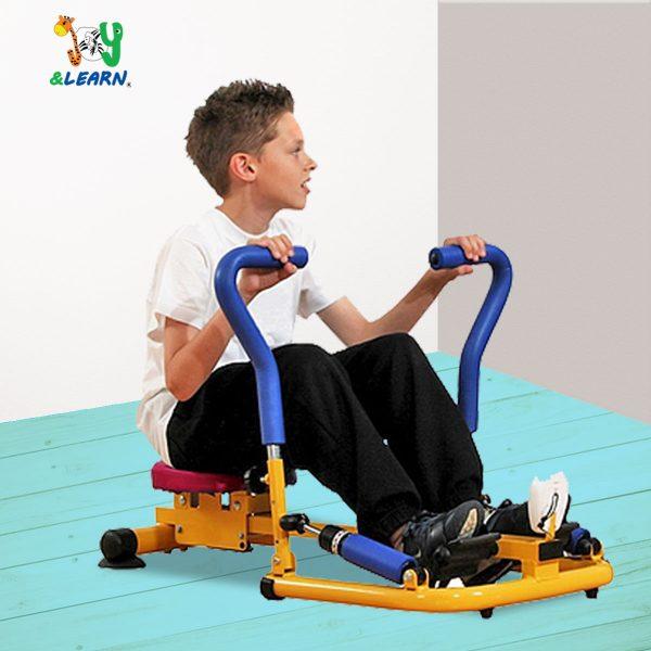 جهاز تجديف جيم العاب جيم اطفال لزيادة اللياقة البدنية لدي الطفل بشكل مرح ومسلي للطفل
